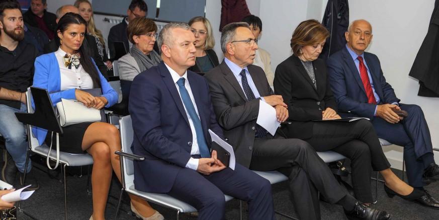 GRAD IVANEC Otvoreni novouređeni prostori Poduzetničkog inkubatora u poslovnoj zgradi u Nazorovoj 6
