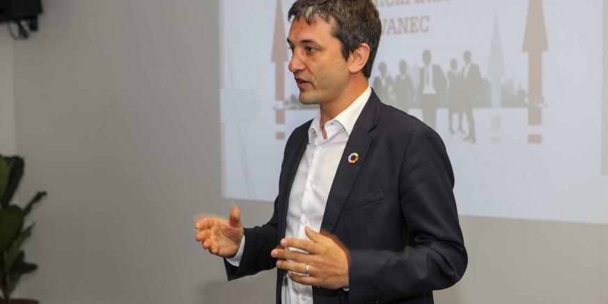 """U utorak, 14. 05., predavanje Davorina Štetnera """"Kako osnovati i uspješno poslovati u start-upu"""""""