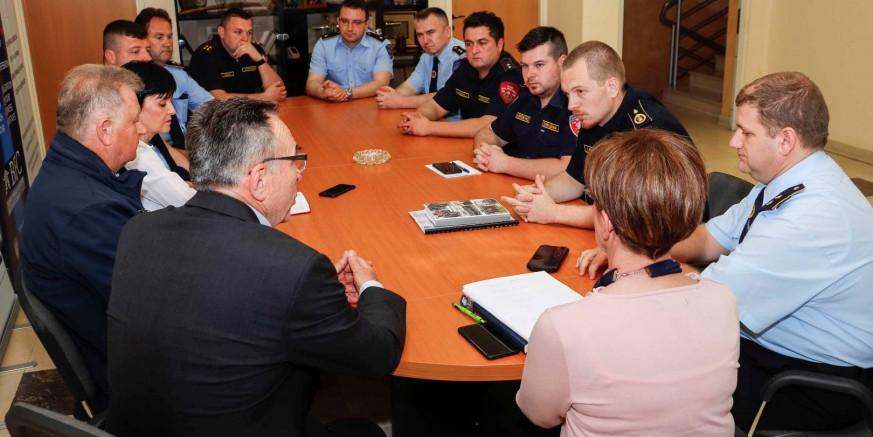 Gradonačelnik M. Batinić priredio prijam za vatrogasce: U 2019. Grad za vatrogastvo izdvaja 1,2 mil. kn, 30% više nego lani