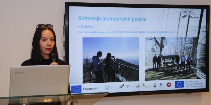 """Završen projekt """"HERE Map Makers"""": Srednja škola Ivanec kreirala digitalne karte planinarskih putova na Ivančicu"""