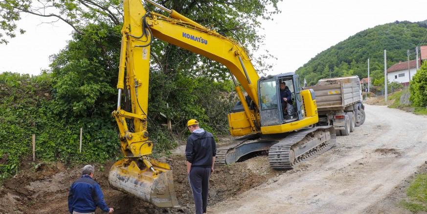 EU PROJEKT VRIJEDAN 4,14 MIL. KUNA Radovi u Prigorcu u punom jeku, završno asfaltiranje u kolovozu