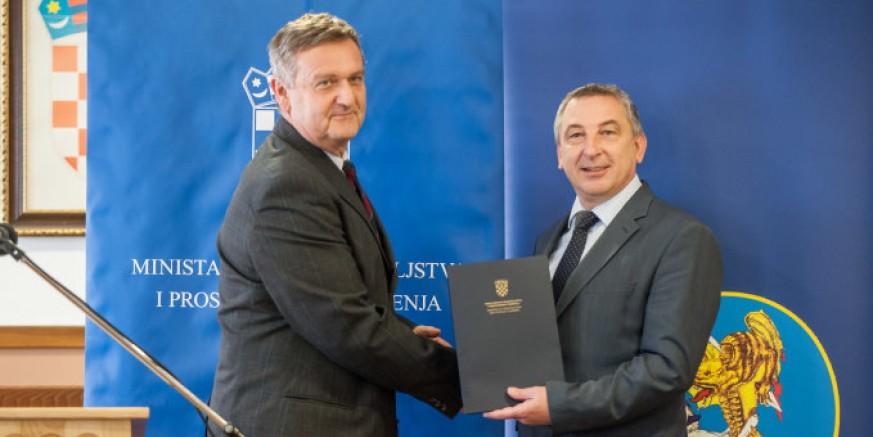 Ministar graditeljstva P. Štromar: Gradu Ivancu predana Odluka o financiranju nerazvrstanih cesta u iznosu od 391.000 kuna