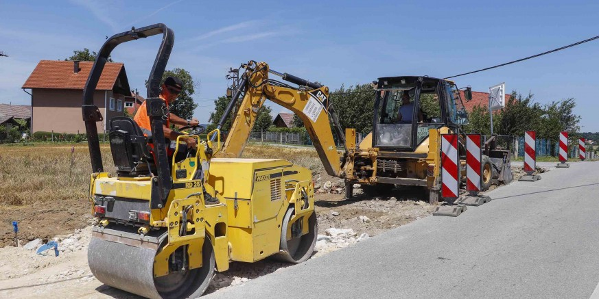 Počeli radovi na izgradnji autobusnog stajališta na Ribić Bregu
