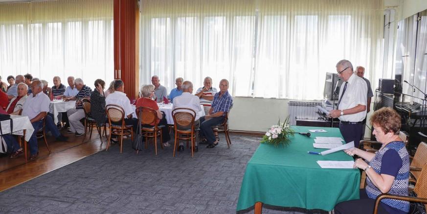 Održana je redovita godišnja skupština Udruge umirovljenika Ivanec