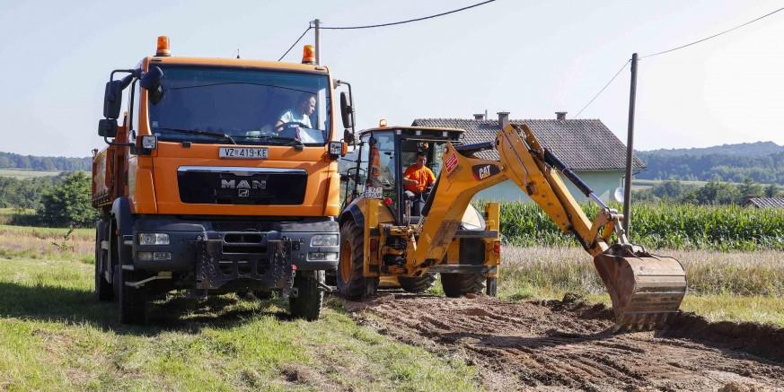 Započeli radovi na modernizaciji nerazvrstanih cesta