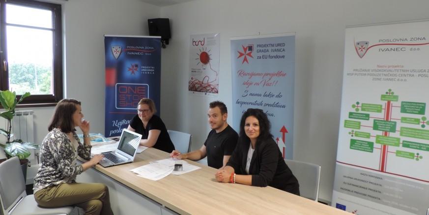 Poslovna zona Ivanec počela s provedbom pilot usluge mentorske sheme HAMAG BICRO-a