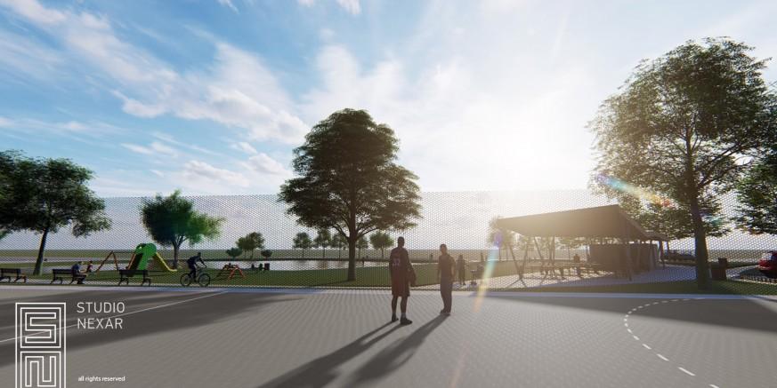 Počinje gradnja kombiniranog sportskog igrališta na budućem Rekreacijskom centru Lančić