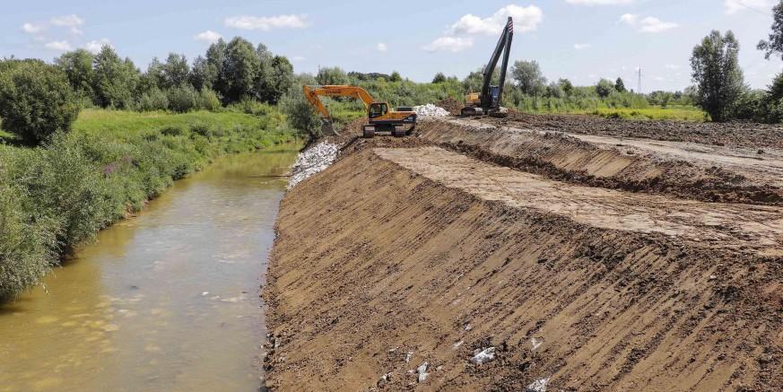 Na području Ivanca u tijeku radovi na uređenju vodotoka u 2019. vrijedni više od 1,6 mil. kuna