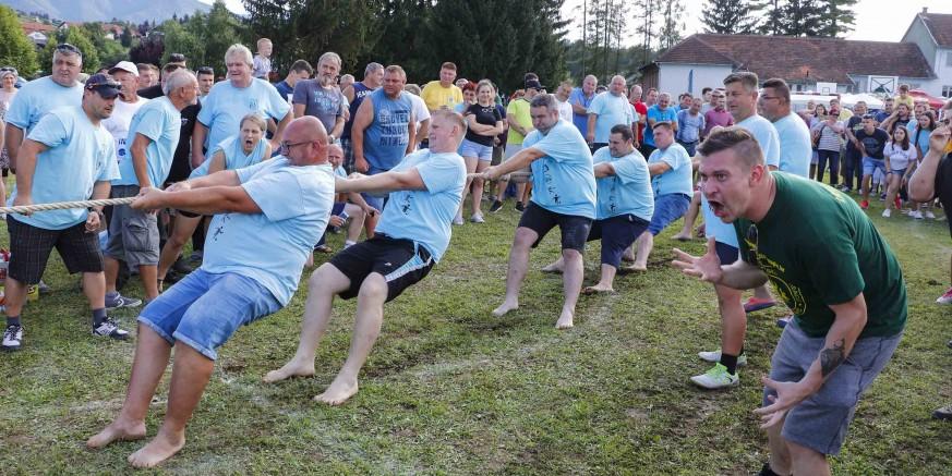 Pod pokroviteljstvom Grada Ivanca, u Salinovcu održane 35. seoske igre starih sportova