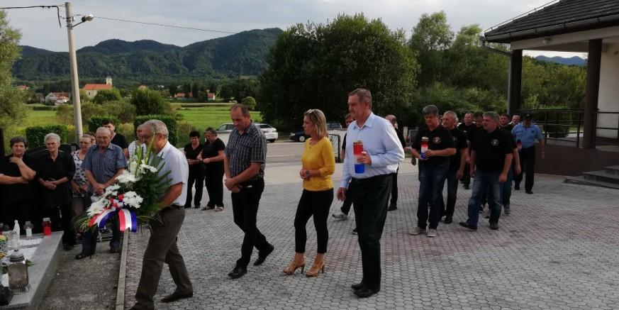 Obilježena 28. godišnjica pogibije branitelja Dražena Šešeta, pripadnika  2. GBR Gromovi