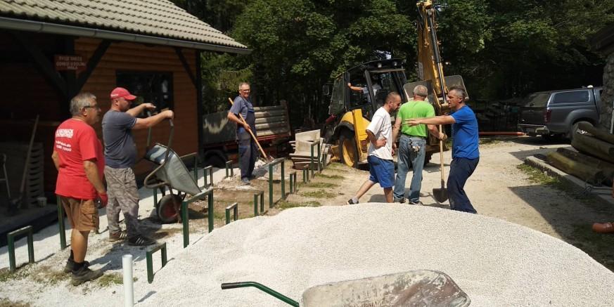 HPD Ivančica održao radnu akciju na Ivančici