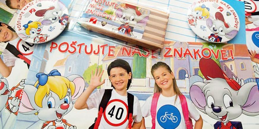 Vozači i djeco, oprez! Počela škola!