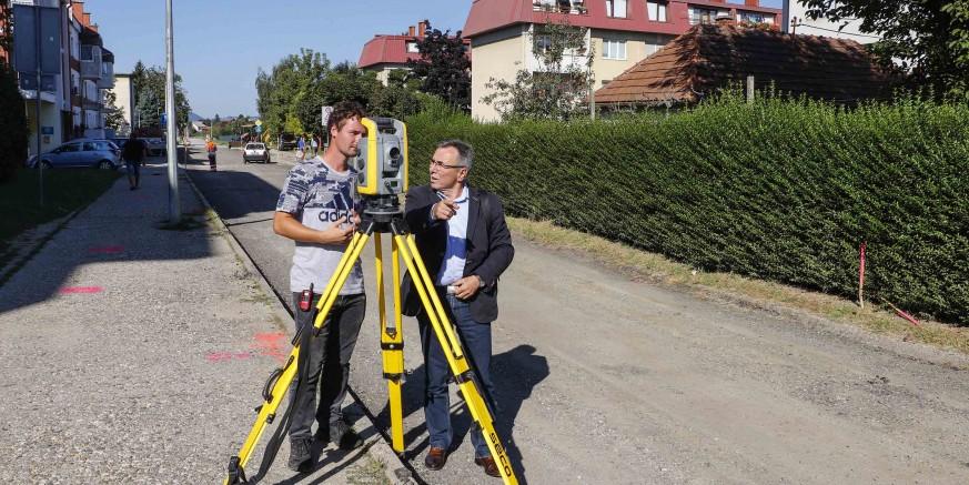 Počela rekonstrukcija dijela ivanečke Gajeve ulice; radovi su vrijedni 685.000 kuna
