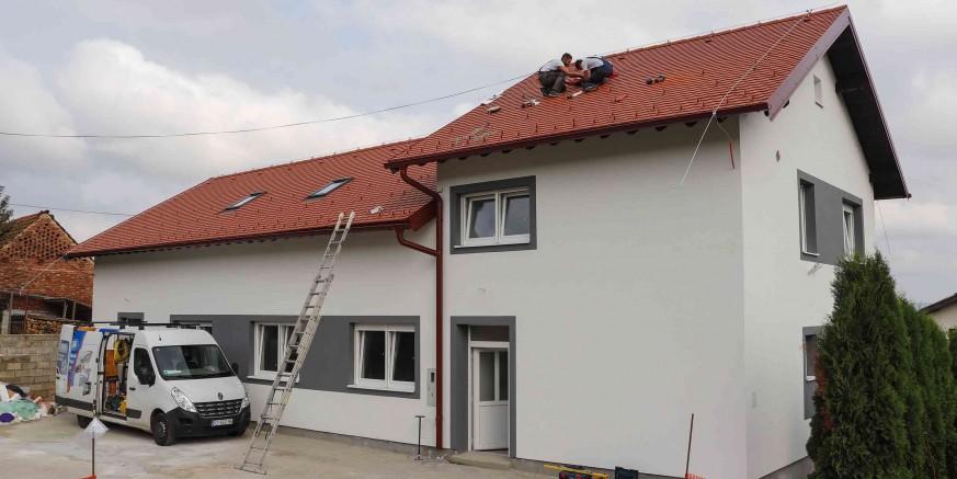 Energetska obnova društvenog doma Lančić – Knapić, vrijedna 1,08 milijuna kuna, u završnoj fazi