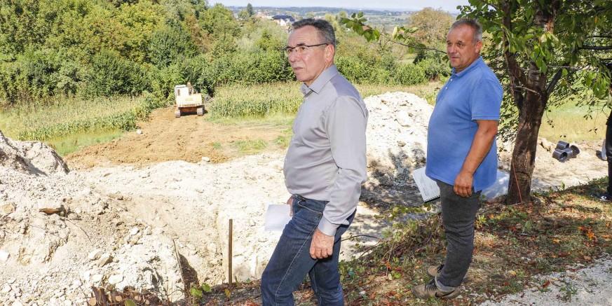 Sanira se klizište u Salinovcu, najveće na području grada Ivanca; vrijednost radova - 1,2 mil. kn
