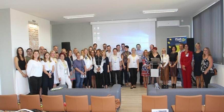 Predstavnici Poslovne zone Ivanec na Konferenciji poduzetničkih potpornih institucija u Sisku