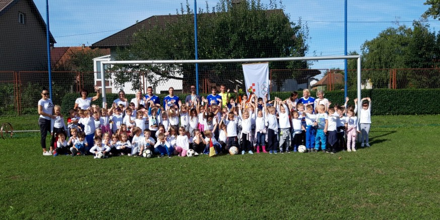 Veseli Hrvatski olimpijski dan u ivanečkom Dječjem vrtiću Ivančice