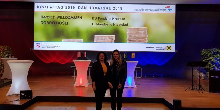 Predstavnice Poslovne zone Ivanec sudjelovale na Danu Hrvatske 2019. u Grazu