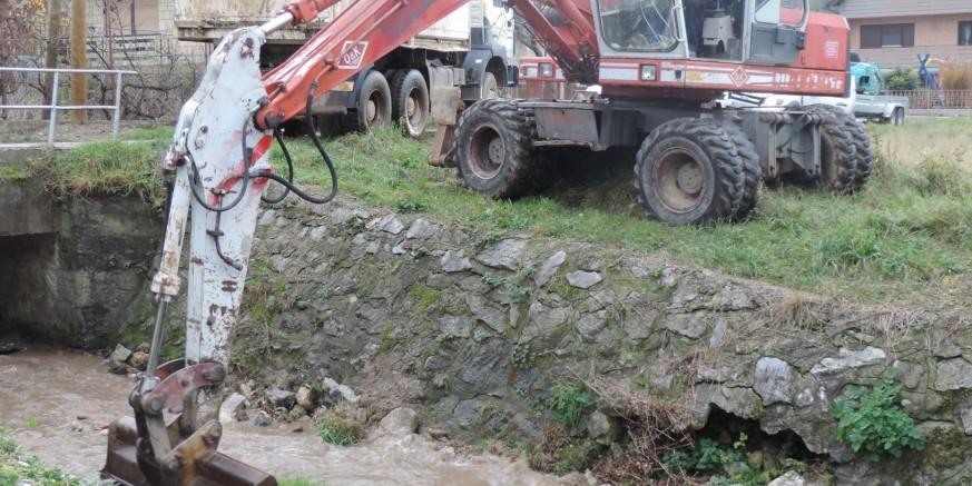 GRAD IVANEC Završeni radovi na čišćenju novih 200 metara potoka Bistrice