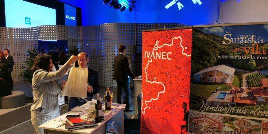 Grad Ivanec, Poslovna zona i 20-ak ivanečkih poduzetnika na Međunarodnom sajmu investicijskih projekata REXPO