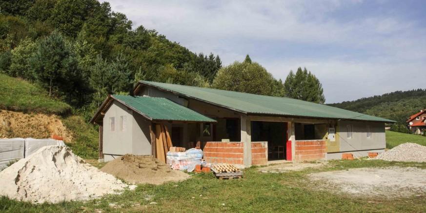 Počeli su radovi na energetskoj obnovi društvenog doma u I. Željeznici vrijedni 391.500 kuna