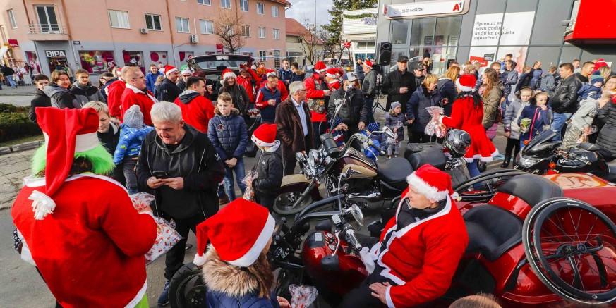 MOTORIZIRANI GOSTI Motomrazovi u Ivanec stižu u nedjelju, 22. prosinca