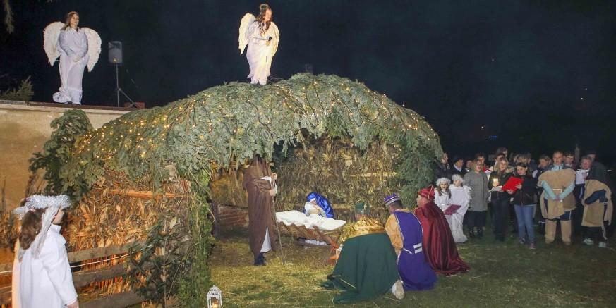 """ŽIVE JASLICE U PRIGORCU """"U jaslicam' prostim rodio se Bog…"""""""