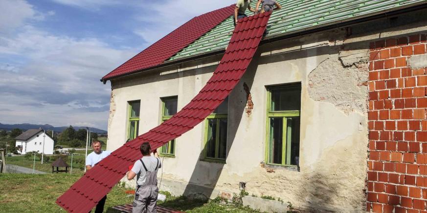 Počeli su radovi na energetskoj obnovi stare škole u Stažnjevcu vrijedni 383.700 kuna
