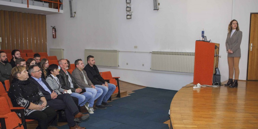 Svečana skupština Kluba mladih Ivanec u povodu prve obljetnice rada