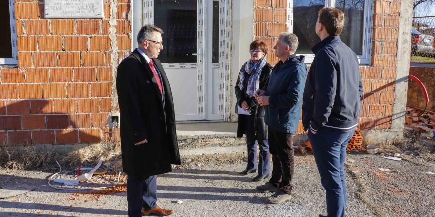 U tijeku rekonstrukcija društvenog doma u Jerovcu Gornjem iz sredstava EU poljoprivrednog fonda za ruralni razvoj