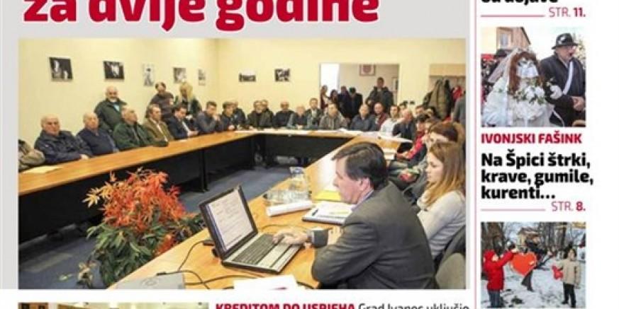 Iz tiska je izašao novi, 73. broj Ivanečkih novina
