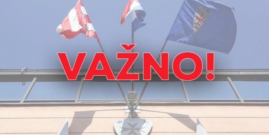 SLUŽBENA ODLUKA STOŽERA CZ RH Kretanje unutar Varaždinske županije dozvoljeno bez propusnica