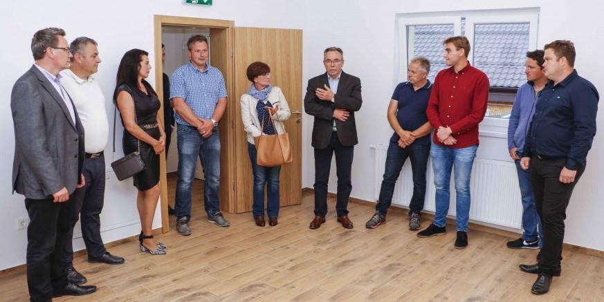 PRIMOPREDAJA Završila rekonstrukcija društvenog doma u Jerovcu Gornjem sufinancirana sredstvima EU fonda za ruralni razvoj