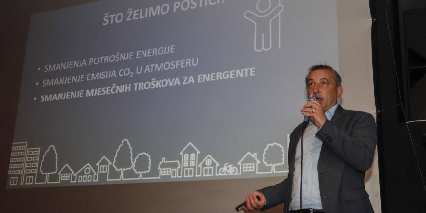 PREZENTACIJA P. ŠTROMARA Velik interes građana za bespovratna sredstva za energetsku obnovu obiteljskih kuća