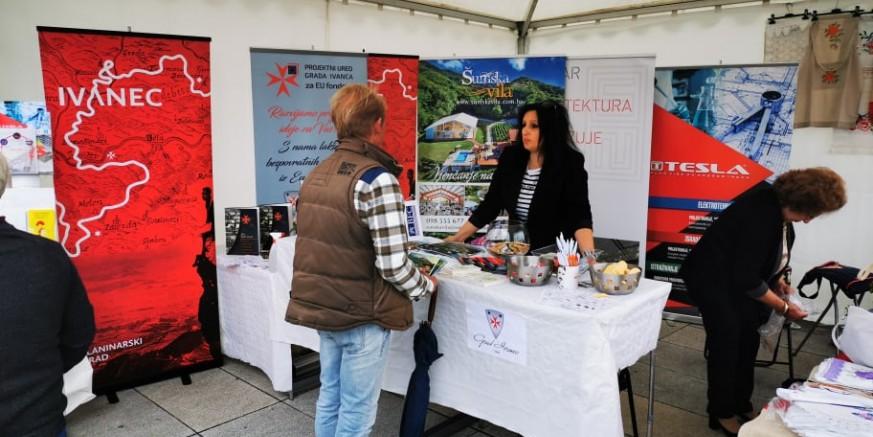 Grad Ivanec, Poslovna zona i 20-ak gospodarstvenika na 6. gospodarskom sajmu u Varaždinu