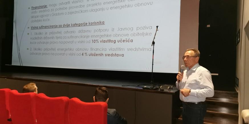 M. Batinić predlaže Gradskom vijeću novu mjeru kojom bi Grad građanima sufinancirao en. obnovu obiteljskih kuća