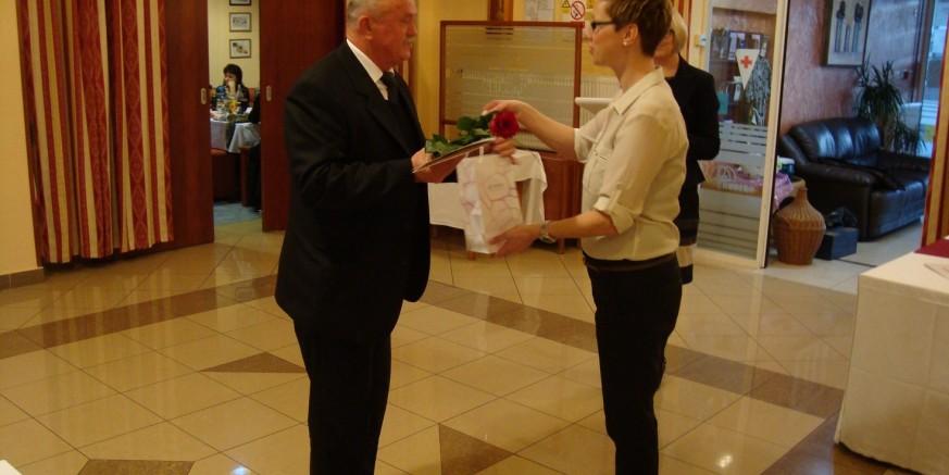 Svečani prijam za dobrovoljne davatelje u povodu 25. listopada, Dana dobrovoljnih darivatelja krvi
