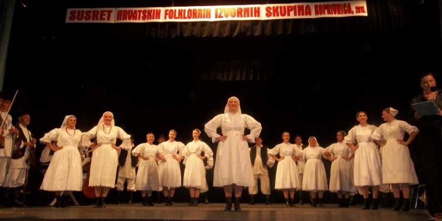 KUD-u Salinovec srebro na državnoj smotri hrvatskih folklornih ansambala i izvornih skupina u Koprivnici