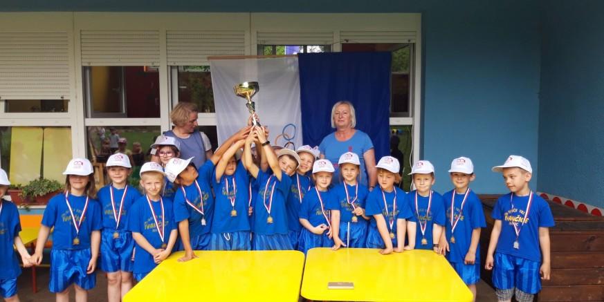 OPROŠTAJ S PREDŠKOLCIMA U Dječjem vrtiću Ivančice održana Mala olimpijada
