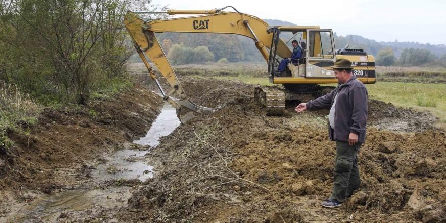 Uređuje se 500 metara Vinskog potoka u Mjesnom odboru Stažnjevec