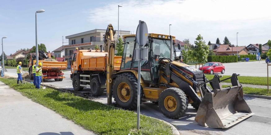 GRAD IVANEC Pripreme za rekonstrukciju Ulice E. Kumičića i dogradnju dopunske oborinske odvodnje