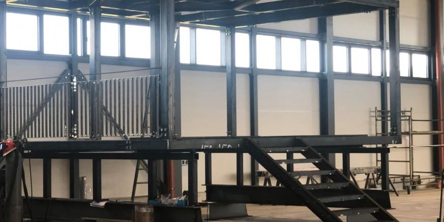 HPD IVANČICA  U tijeku gradnja nove konstrukcije vidikovca Stričevo na Ivančici