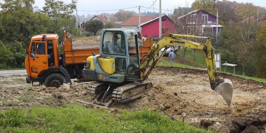 Počela je gradnja društvenog doma u Osečkoj, idući tjedan počinje gradnja u Kaniži