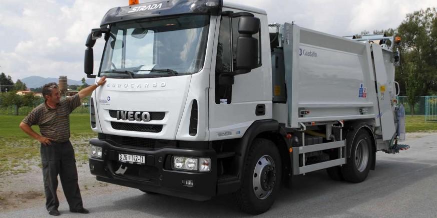 Za dva nova komunalna vozila Ivkomu d.d. bespovratnih 1,46 milijuna kuna iz EU fondova