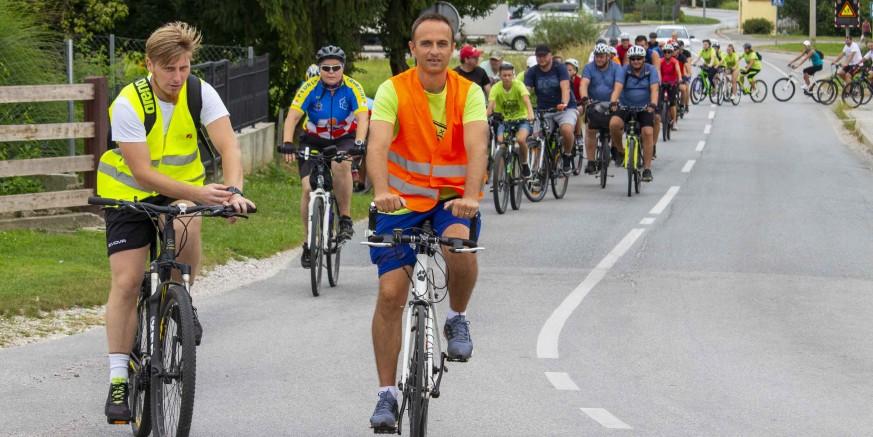 POD POKROVITELJSTVOM GRADA IVANCA 114 sudionika na 9. biciklijadi DŠR-a Salinovec