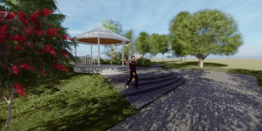 FINALNE PRIPREME ZA UREĐENJE GLAVNOG PARKA Slijedi uređenje staza i rekonstrukcija paviljona