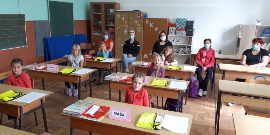 POČELA JE ŠKOLA! U ivanečke osnovne škole krenulo 978 đaka, među njima 104 prvašića
