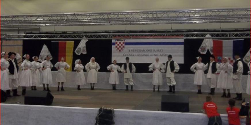 Uspjeh: KUD-u Salinovec prvo mjesto u kategoriji izvornog folklora u njemačkom Filderstadtu
