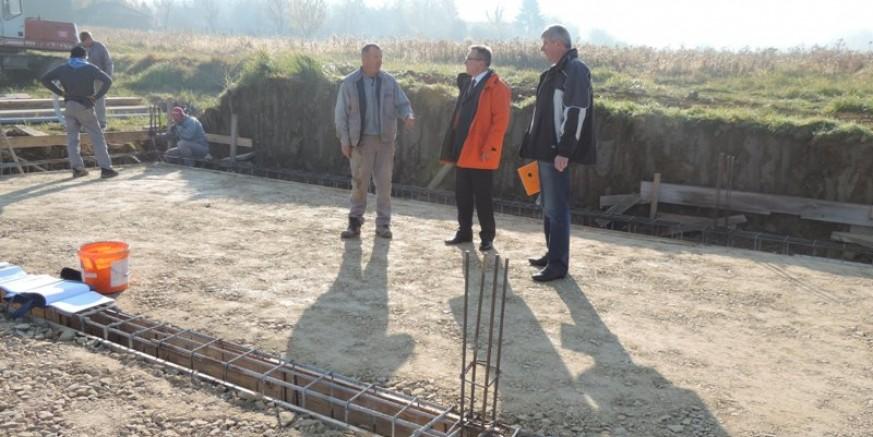 Završavaju radovi na gradnji temelja budućeg društvenog doma u Kaniži