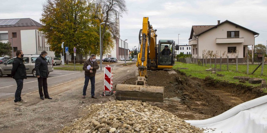 U punom jeku radovi na rekonstrukciji Ulice E. Kumičića vrijedni 1,55 milijuna kuna